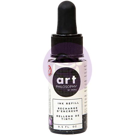 Chat Noir - Prima Color Philosophy Dye Ink Refill .5oz
