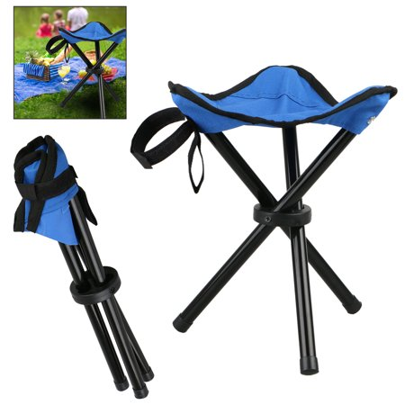 EEEKit Large Slacker Chair, Portable Tripod Stool Folding Stool with Carrying Case for Outdoor Camping Walking Hunting Hiking Fishing