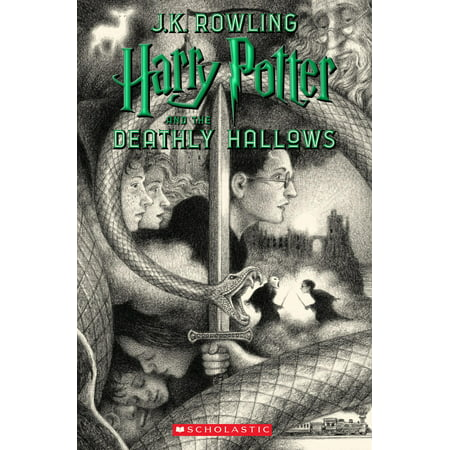 Harry Potter and the Deathly Hallows (Paperback) (Deathly Hallows Pumpkin)