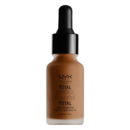 NYX Professional Makeup Total Control Drop Foundation, Deep Cool