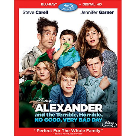 Alexander and the Terrible, Horrible, No Good, Very Bad Day (Blu-ray + Digital (Alexander And The Horrible Very Bad Day)