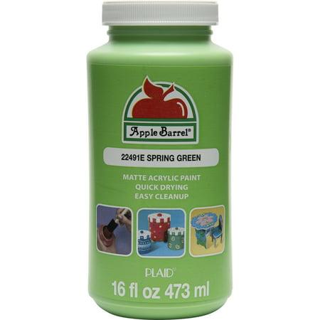 Apple Barrel Spring Green Paint, 16 Fl. Oz. - Pint 16 Oz