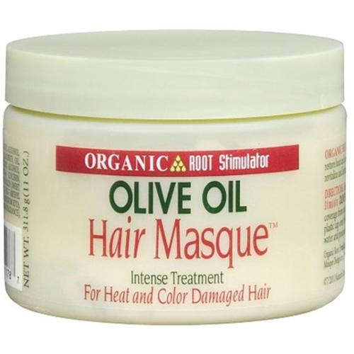 Organic Root Stimulator Olive Oil Hair Masque, 11 oz (Pack of 3)