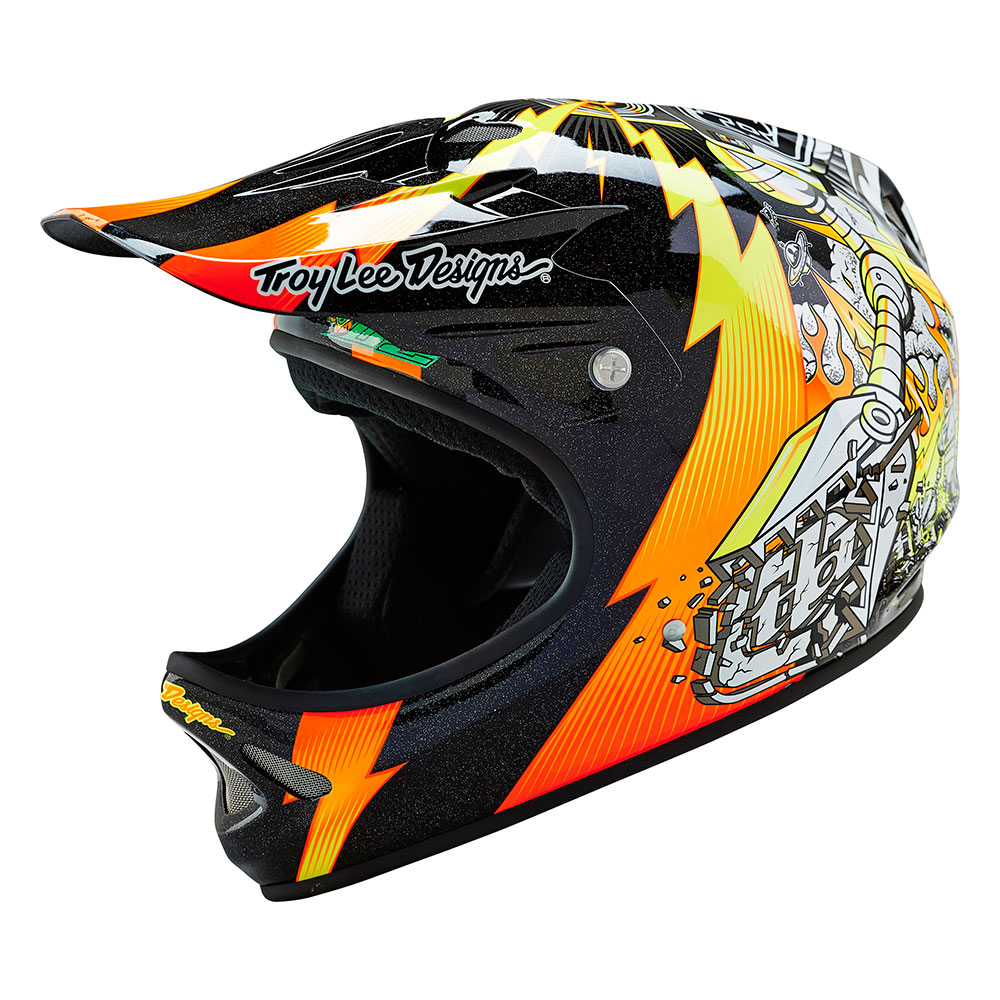 Troy Lee Designs Men's Invade D2 Mountain Bike Helmet