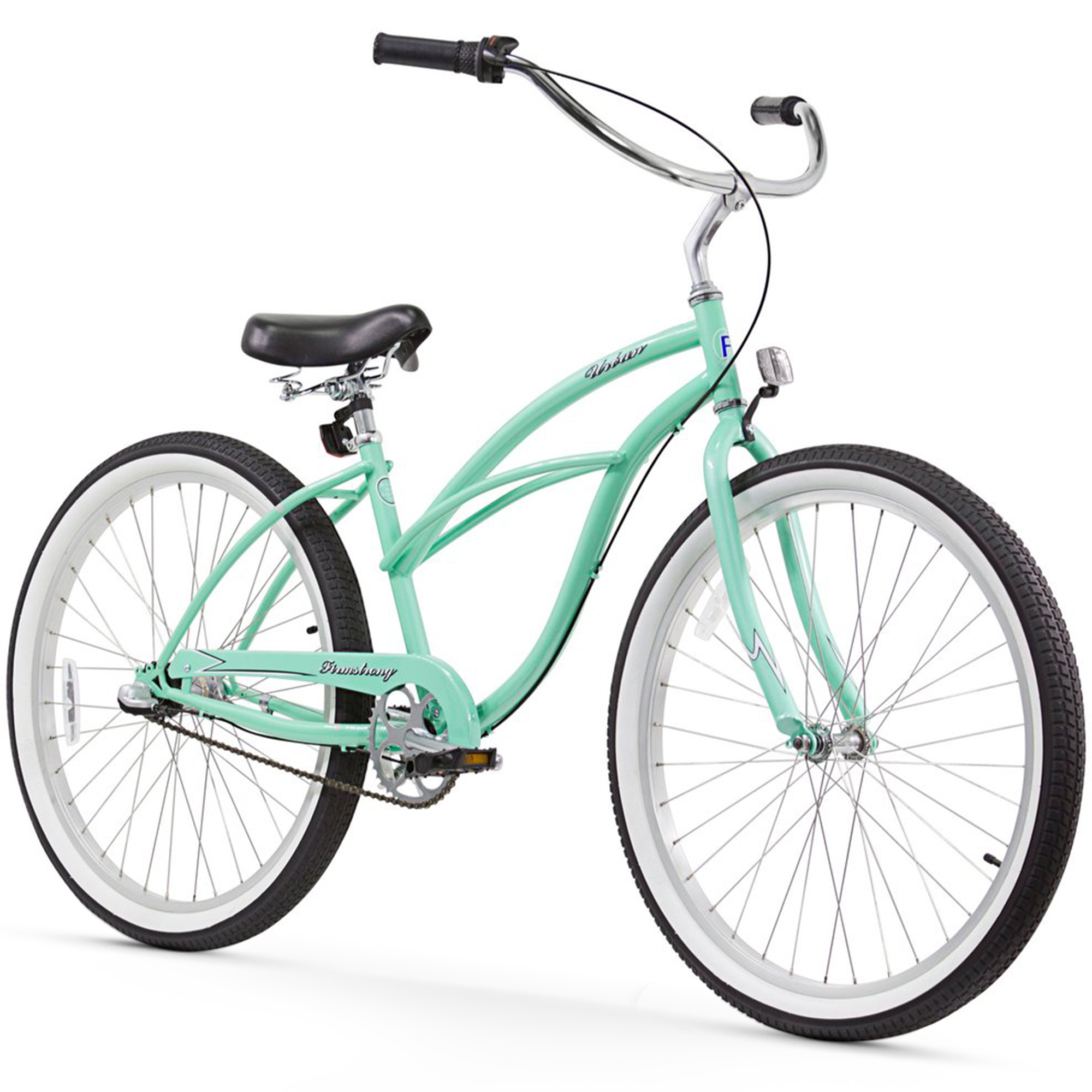 "Firmstrong Urban Lady, 26"", Women's, Three Speed, Mint Green"