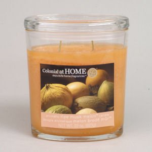 Colonial Candles Ripe Musk Melon CH0035-1233 3.5 oz Scented Jar