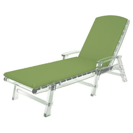 Trex Outdoor Furniture Sunbrella 77 x 21.5 in. Chaise Lounge Cushion (T-rex Stripe)