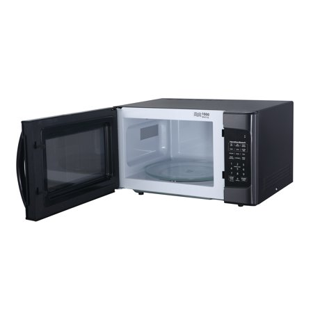 Hamilton Beach 1.1 Cu. Ft. 1000W Black Stainless Steel Microwave