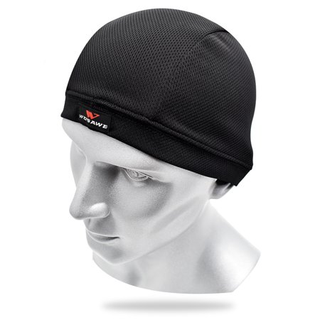 Ultralight Quick Drying Bike Helmet Liner Bicycle Cycling Beanie Cap Balaclava Headwear - image 4 de 7