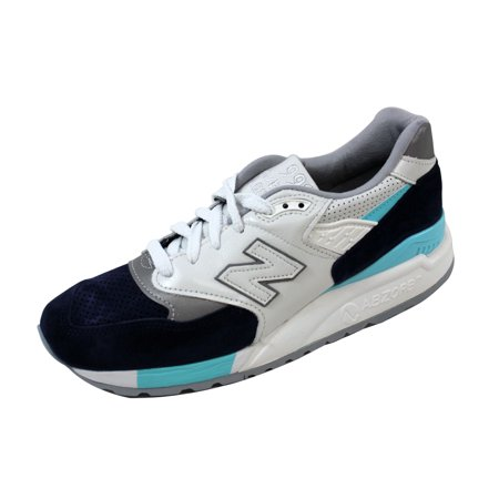 online retailer 80dbb 252f6 New Balance - New Balance Men's 998 Winter Peaks White/Navy-Blue ...