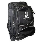 """Bridgestone Golf Backpack, Black with White """"B"""" Mark"""