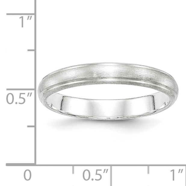925 Sterling Silver 4mm Finish Wedding Ring Band Size 8.00 Classic Fine Jewelry Gifts For Women For Her - image 1 de 2