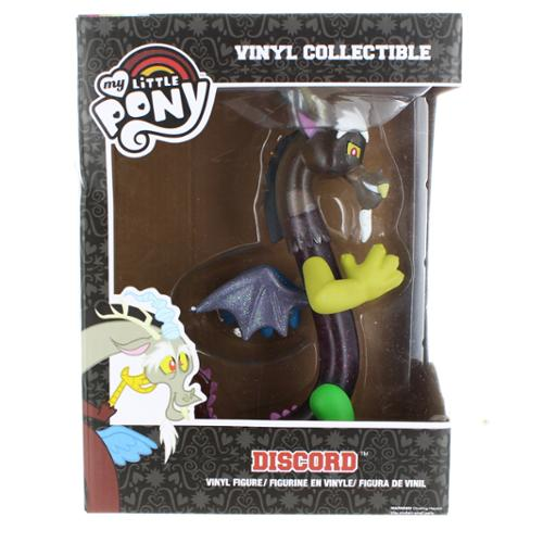 "My Little Pony Funko 7"" Vinyl Figure: Discord (Clear Glitter Variant)"
