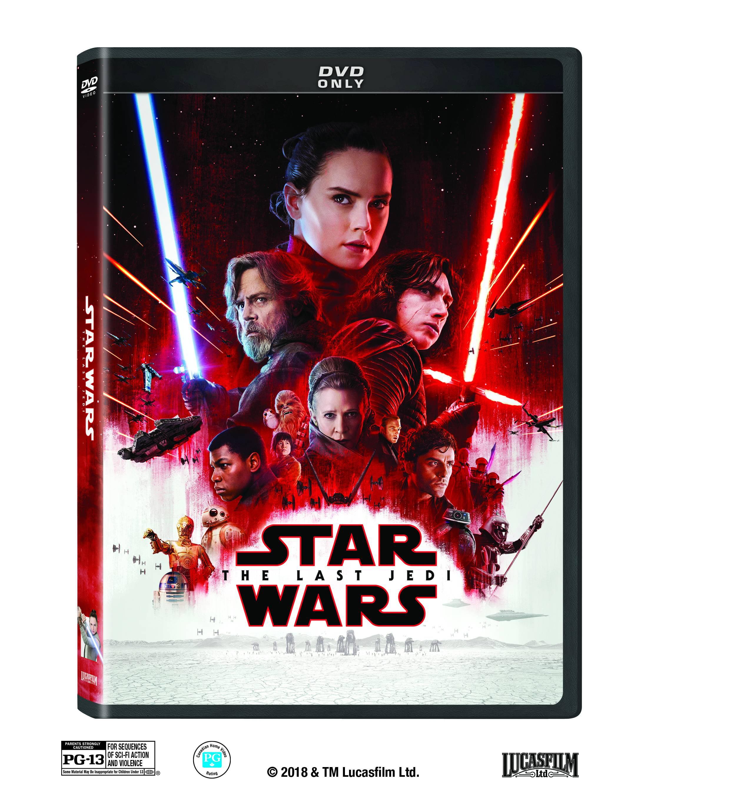 Star Wars: Episode VIII: The Last Jedi (DVD) by Buena Vista Home Entertaiment