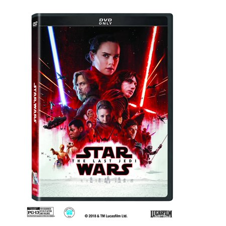 Star Wars: Episode VIII: The Last Jedi (DVD) for $<!---->
