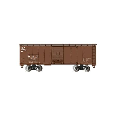 Bachmann 15005 HO Delaware & Hudson 40' Steam Era Box