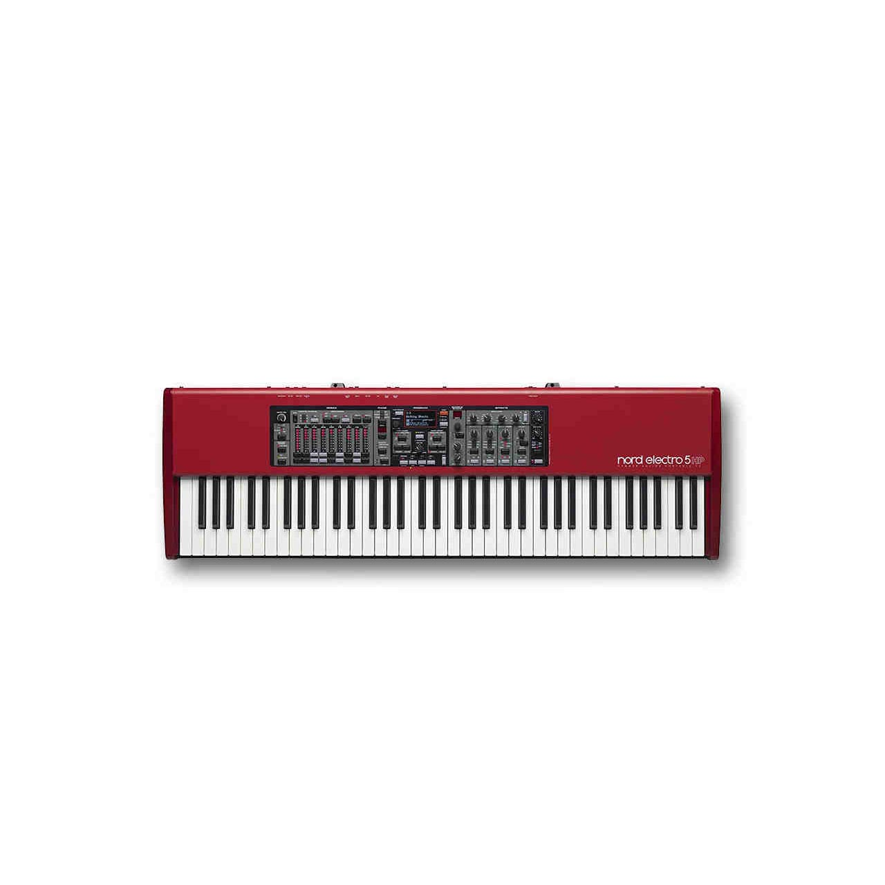 Nord Electro 5 HP73 Velocity Sensitive 73-Key Hammer Action Portable Keyboard (NELECTRO5-HP73) by Nord Keyboards