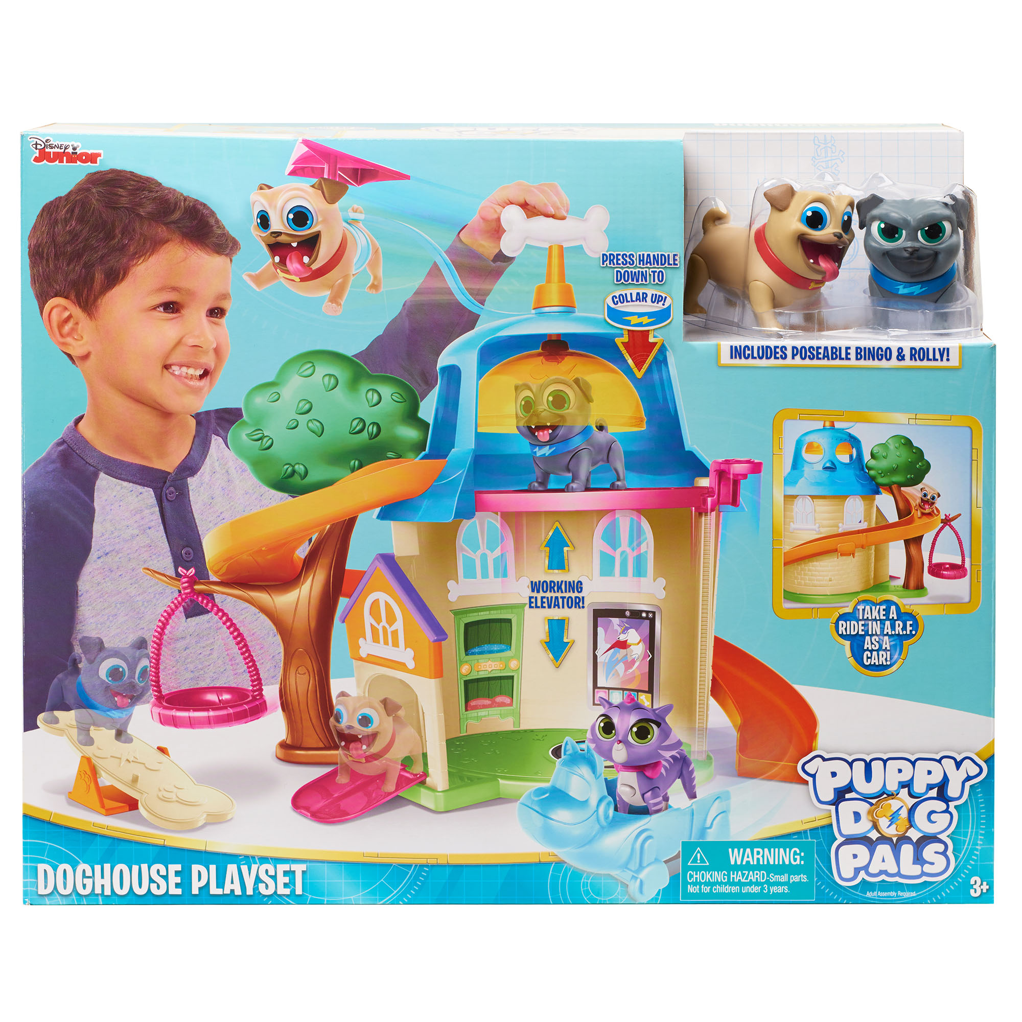 Puppy Dog Pals Doghouse Playset Walmartcom