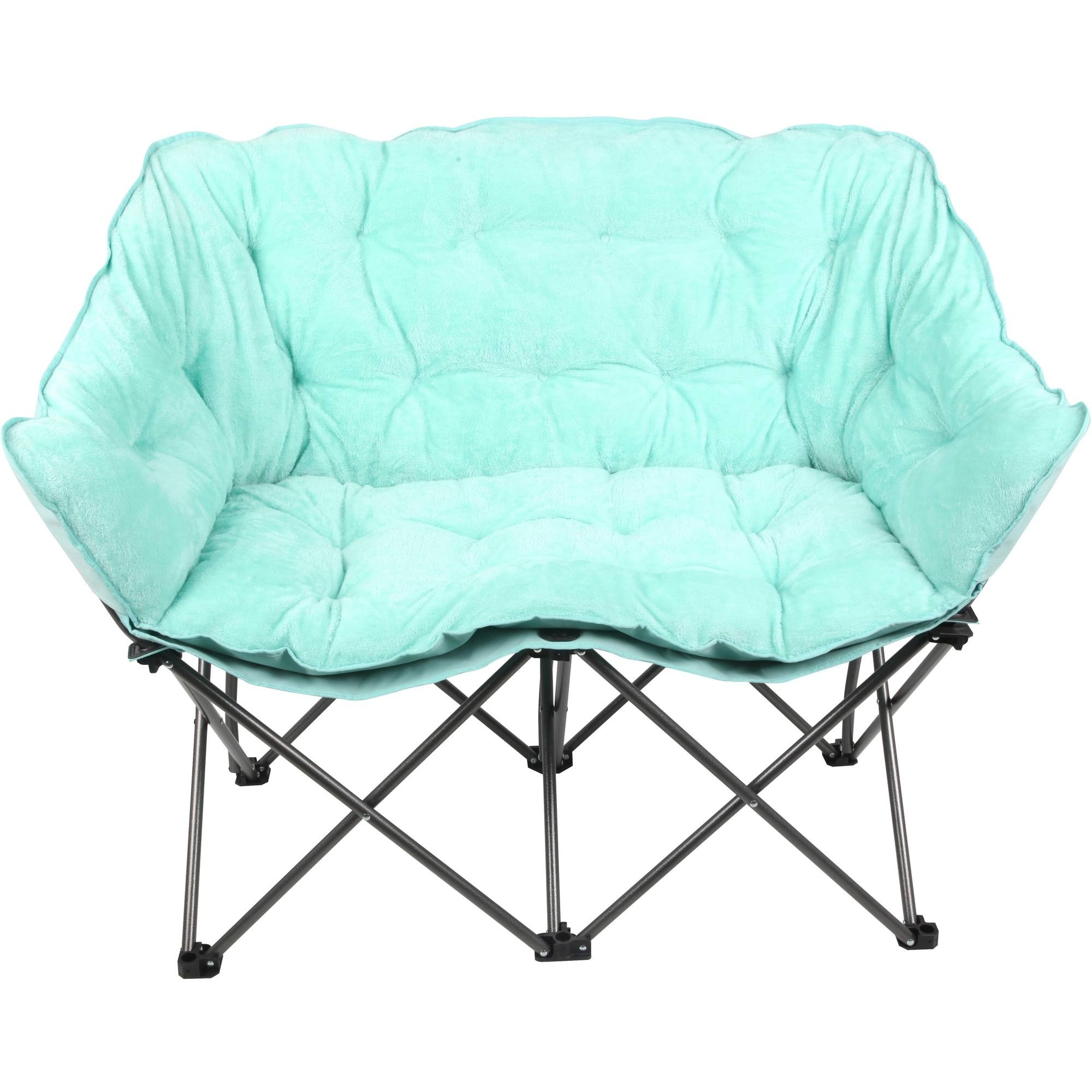 Mainstays Plush Loveseat Chair, Available in Multiple Colors