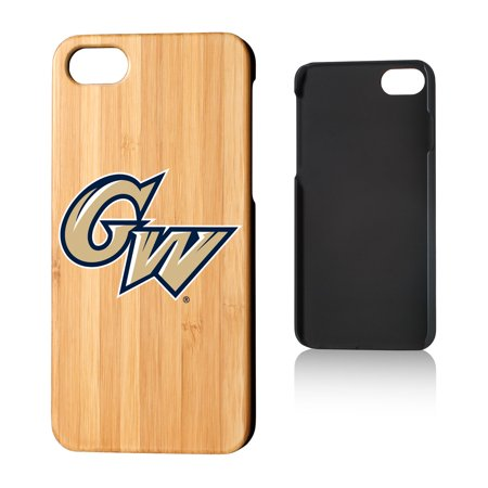 GW George Washington Colonials Insignia Bamboo Case for iPhone 8 / 7