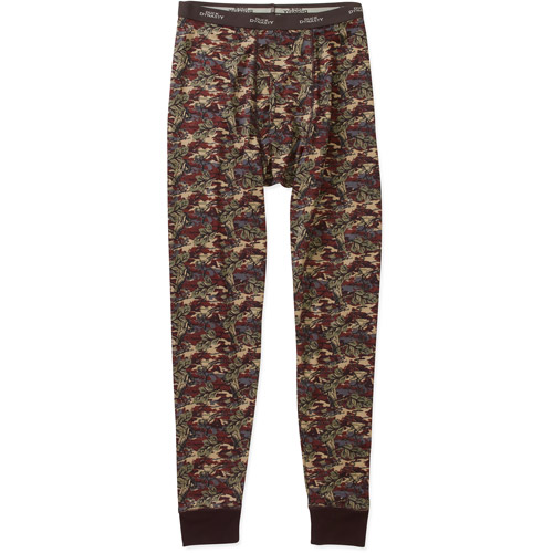 Duck Dynasty Men's Base Layer Faux Camo Thermal Pant