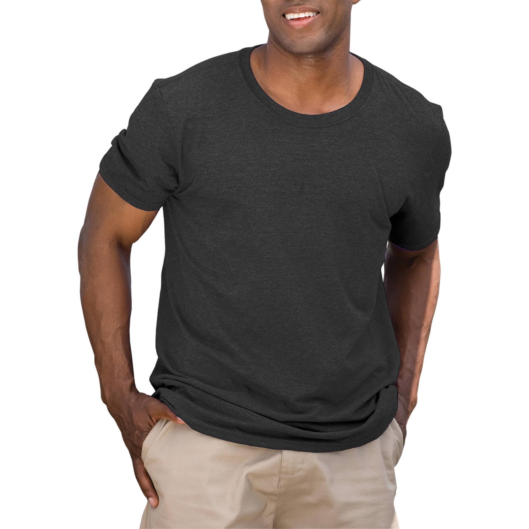 Gildan Mens Fitted Short Sleeve T-Shirt