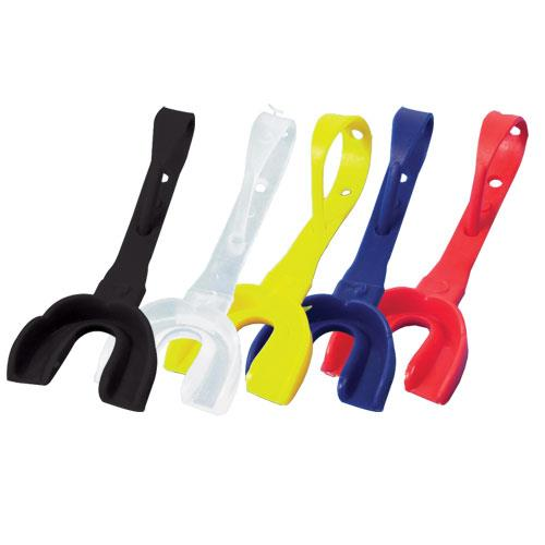Youth Mouthguard with Strap-Color:Gold