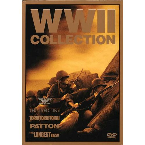 World War II Collection (The Thin Red Line/Patton/Tora! Tora! Tora!/The Longest Day)