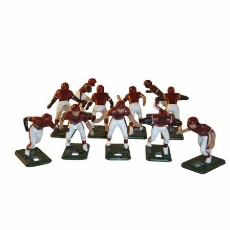 Electric Football 67 Big Men Players 11 in Purple Yellow Home Uniform 3.5 Acrylic Football Player