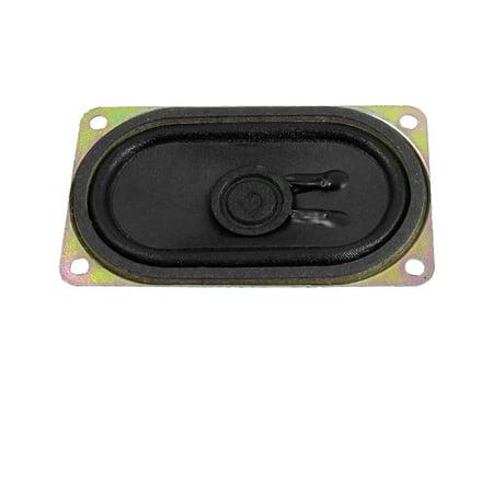 Unique Bargains 2W 2 Watt 8 Ohm Aluminum Rectangular Internal Magnet Speaker
