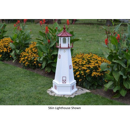 2' Marblehead, Ohio Replica Lighthouse with (Two Lights Lighthouse)