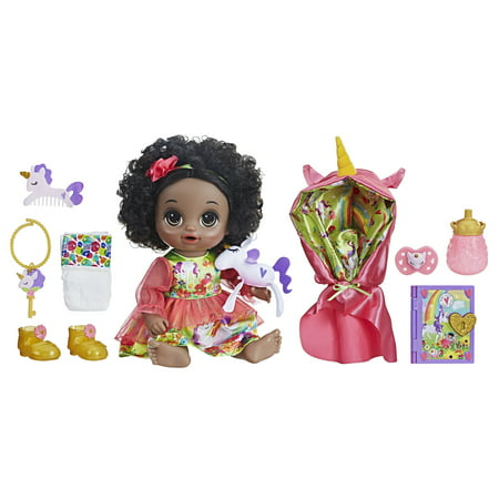 45918f813b Baby Alive Once Upon a Baby  Forest Tales Forest Mia- Black Curly ...