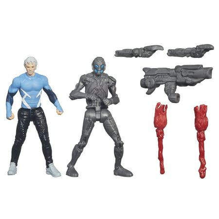 Marvel Avengers Age of Ultron Quicksilver and Sub Ultron 009 - Walmart.com