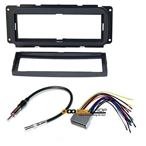 dodge 2002 2005 neon car stereo dash install mounting kit wire harness walmart