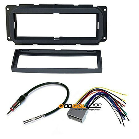 CHRYSLER 2002 - 2007 TOWN & COUNTRY CAR STEREO DASH INSTALL MOUNTING KIT WIRE HARNESS
