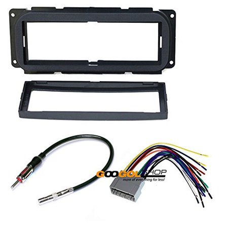dodge 2002 - 2005 neon car stereo dash install mounting ... 2000 dodge neon radio wiring diagram #12