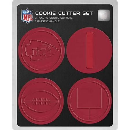 Nfl Kansas City Chiefs Cookie Cutter Set