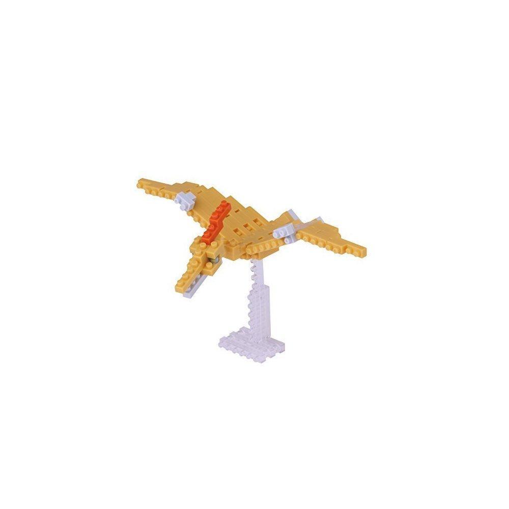 Kawada Micro-sized building block Nanoblock -NBC183 Dinosaur Pteranodon Building Kit, 90... by nanoblock