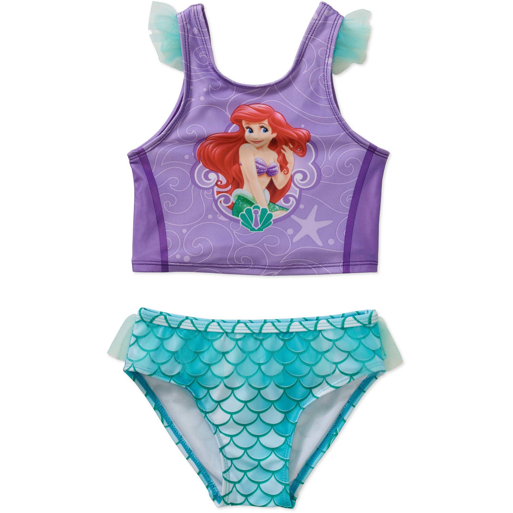 cb425dc332 Disney Princess - Disney Little Mermaid Ariel Toddler Girl Tankini ...