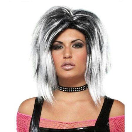 Costumes For All Occasions Mr177350 Wig Rock Longer White - White Wig For Kids