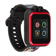 Justice League Kids Smartwatch by PlayZoom - Selfie Camera and Video, Learning, Educational and Interactive Games, Birthday Gift for Girls and Boys (Justice League Print, 48mm)