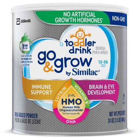 Similac Go Amp Grow By Similac Toddler Drink With 2 Fl Hmo
