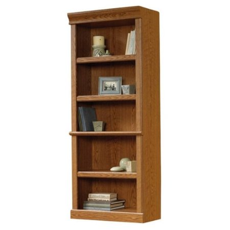 Bowery Hill 5 Shelf Bookcase In Carolina Oak