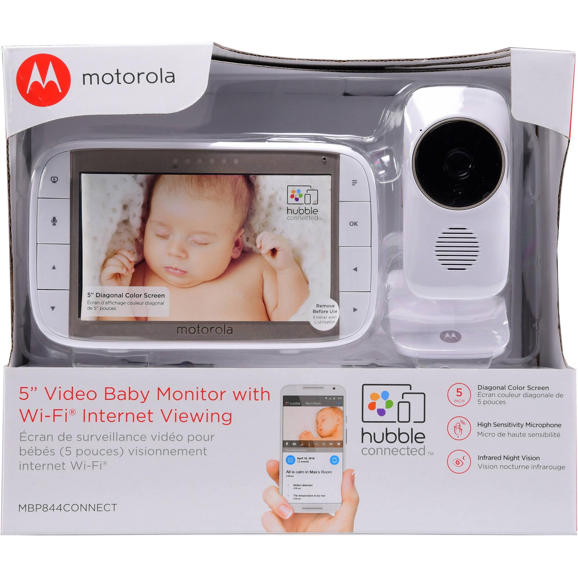 Motorola MBP844 Connect, Wi-Fi Baby Monitor