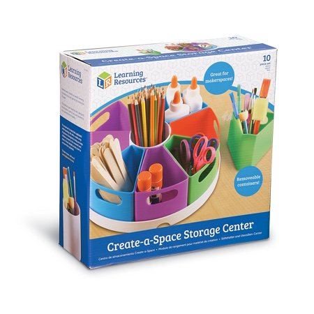 Best Learning Resources Create-a-Space Storage Center, Bright Colors, Classroom Organizer deal