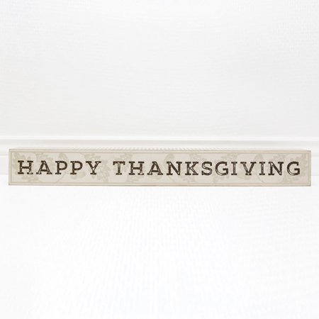 Adams & Co Fall Decor - Happy Thanksgiving Wood Mantle Sign](Fall Mantel Decor)