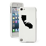 Apple iPod Touch 5 5th Generation Rubber Hard Case Cover Cali Bear California (White)