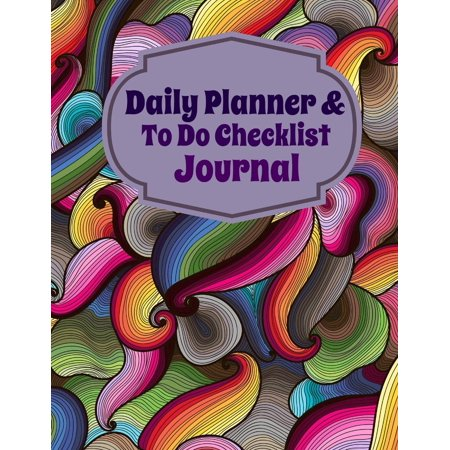 Daily Planner and to Do Checklist Journal (Paperback)](Baby Shower Planning Checklist)