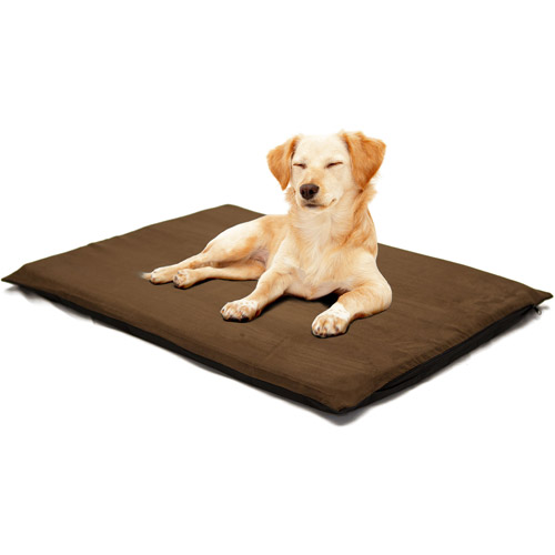 "PETMAKER 2"" Orthopedic Foam Pet Bed, Suede Espresso"