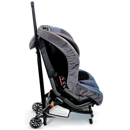 Britax Rolling Car Seat Travel Cart, Black